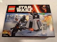 LEGO Star Wars FIRST ORDER BATTLE PACK Set 75132 4 Minifigures - FACTORY SEALED