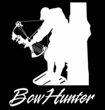 Bow Hunter Vinyl Decal Sticker car Truck Window