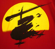 MISS SAIGON logo sweatshirt XL circa 1989 Madame Butterfly musical Broadway crew