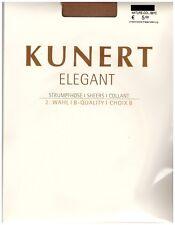 """Kunert """"Elegant"""" Strumpfhose transparent B-Quality versch. Farben Gr. 40-42"""