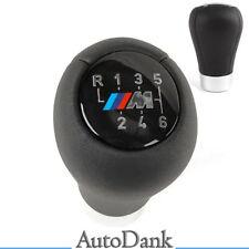 SCHALTKNAUF SCHWARZ M-PACK 6+R FÜR BMW E36 E38 E39 E46 E60 E61 E87 E90 X3 X5
