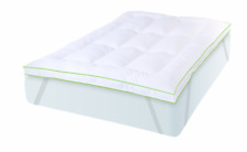 Deluxe Memory Foam Mattress Protector Bedding Bed Pad Topper King Size 3 Inch