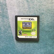 Guiness World Records: The Videogame - Nintendo DS - Free Shipping!