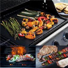 Tapis de barbecue Feuille de Cuisson BBQ Grill Réutilisable Anti-adhésif