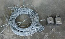 Set Of ( 2 ) Apperal Security Cable Locks & Cables