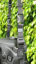 LONG QUICK RELEASE CAMERA SHOULDER HAND STRAP BELT CONNECTOR CANON NIKON SONY