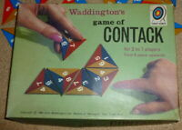 WADDINGTONS CONTACK - vintage board game.