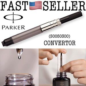 Genuine Parker Fountain Pen Converter Standard To Twist Fill S0050300 NEW! FAST!