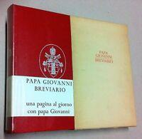 Breviario di Papa Giovanni pensieri per ogni giorno dell'anno Garzanti 1° ed. 19
