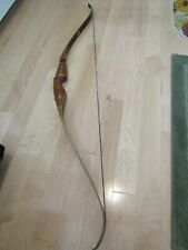 "New listing Vintage Bear Archery 1971/72 Grizzly Recurve Bow RH45# 58"""