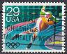 USA Briefmarke gestempelt 29c Olympia Eisschnellauf Sport Eislauf / 534