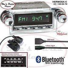 RetroSound Hermosa-C Radio/Bluetooth/USB/3.5mm AUX-In 4 ipod 124-04 Ford T-Bird