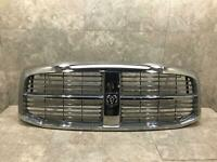 06 07 08 09 10 Dodge Ram Front Grille Grille Used Oem Chrome With Mount