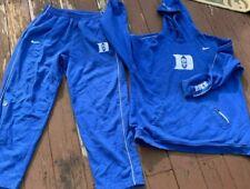 NIKE DUKE BASKETBALL SUIT JACKET + PANTS BLUE RARE sz XL Pants 2xl hoodie