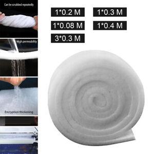 White Polishing Dual Density Aquarium Filter Sponge Pad for Aquaculture
