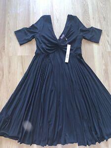 Womens Phase Eight Dress Size 12 Bnwt Black