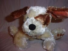 "Snuggle Toy Dog 10"" Sound Record Play Silky Plush Soft Toy Stuffed Animal"