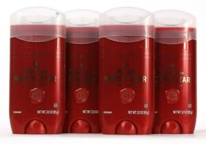 4 Count Old Spice 3 Oz North Star With Notes Of Teakwood Aluminum Free Deodorant