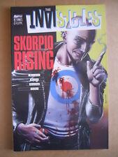 THE INVISIBLES : Skorpio Rising  - Book Magic Press 2000  [G476]