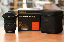 NEW with warranty: Sigma 10-20mm f4-5.6 Wide Zoom Lens, Olympus Four-Thirds 4/3