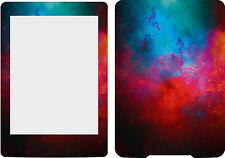 New Kindle Paperwhite Reader Skin Cover  Sticker Blue Red Abstract KP12
