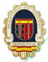 09203 - Chapa cartera M. DEFENSA RESERVISTA