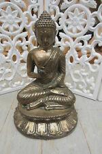 BUDDHA BUDHA 21CM MESSING SKULPTUR BUDDHA FIGUR SKULPTUR ASIA-STONE-KÖLN