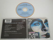 Peter gabriel/plays Live-points forts (virgin-charisme pgdlcd 1) CD album
