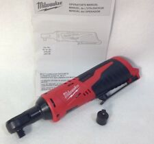 "New Milwaukee 2457-20 M12 Li-Ion Cordless 3/8"" Ratchet 12V - Bare Tool"