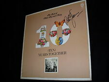 Peter Yarrow signed The Best of Peter, Paul & Mary record vinyl LP