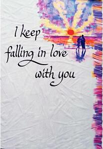 Blue Mountain Arts Sentimental Card: Love -  I Keep Falling In Love With You