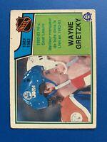 Wayne Gretzky GOAL Leader 1983-84 #215 O-Pee-Chee Hockey Card Edmonton Oilers
