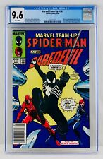 MARVEL TEAM-UP #141 CGC 9.6 Newsstand White Pages First BLACK Costume SPIDER-MAN