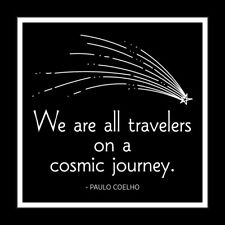 It Was Said Greeting Card - Cosmic Journey (Falling Star) - Srs-Iws-3192