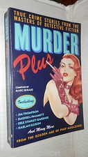 MURDER PLUS True Crime Stories from the Masters of detective fiction Marc Gerald