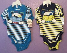 Boys New TeddyBoom 3 Pieces Each 6-9 Months, Total 2 Bib And 4 One.