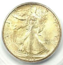 1918-S Walking Liberty Half Dollar 50C Coin - ICG MS62 - Rare Date - $1380 Value