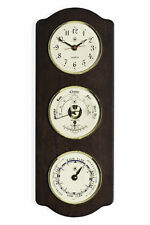 "WEATHER STATIONS - ""TIDEWATER"" CLOCK - TIDE CLOCK & BAROMETER / THERMOMETER"