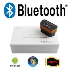Vgate iCar 2 BT OBD2 Diagnose Interface - WindowsPhone Android VW Schwarz/Orange
