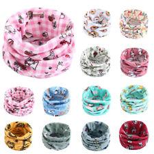 Toddler Girls Boys Scarf Cotton Children Kids Soft Scarves Neckerchief Warmer VT