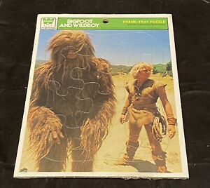 1978 Sid & Marty Krofft Bigfoot and Wildboy Whitman Frame Tray Puzzle Sealed!!