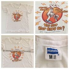 """Vintage Tee Shirt 1978 Big Dummy's Guide to CB RADIO 34"""" Chest GOT YOUR EARS ON?"""