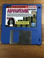 CU Amiga Magazine Cover Disk 64 Advantage  TESTED WORKING