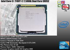 Intel SR05Z Core i3 2100T 2.5GHz Dual Core CPU PROCESSOR 35W 3MB Cache EB2802