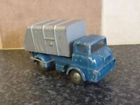 VINTAGE BUDGIE TOYS No.274 FORD THAMES REFUGE LORRY 1962-6 BLUE/SILVER VGC