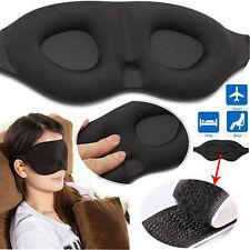 3D Soft Padded Design Eye Sleep Mask Aid Shade Cover Blindfold For Rest Travel C