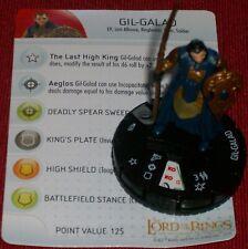 Gil-Galad #026 #26 Communauté De Bague le Seigneur des Anneaux Heroclix Rare
