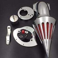 Spike Air Cleaner Intake Filter Kit For Honda Vtx1300 1986-2012 Chrome