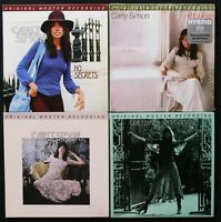 MFSL 4 SACD SET  CARLY SIMON  ** NEW PROMOS **  ANTICIPATION  NO SECRETS  S/T +