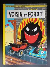 Voisins et Ford t Marc Lebut EO 1971 BON ETAT Tillieux